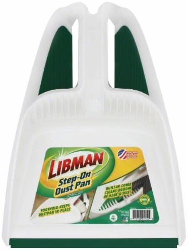 Libman® Step-On Dust Pan Perspective: front