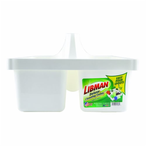 Libman® Deluxe Cleaning Caddy - White Perspective: front