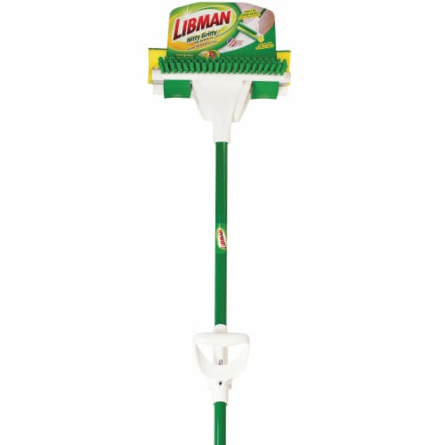Libman® Nitty Gritty Roller Mop - Green Perspective: front