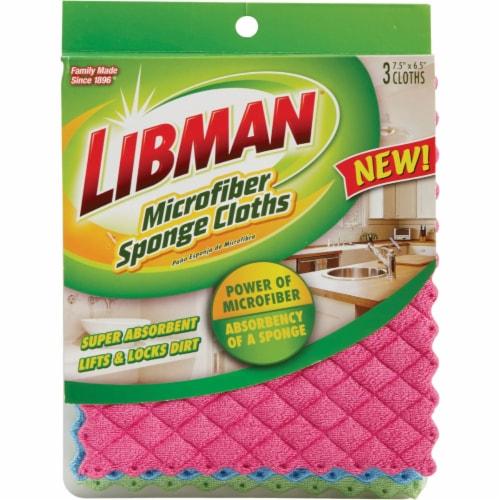 Libman® Microfiber Sponge Cloth Perspective: front