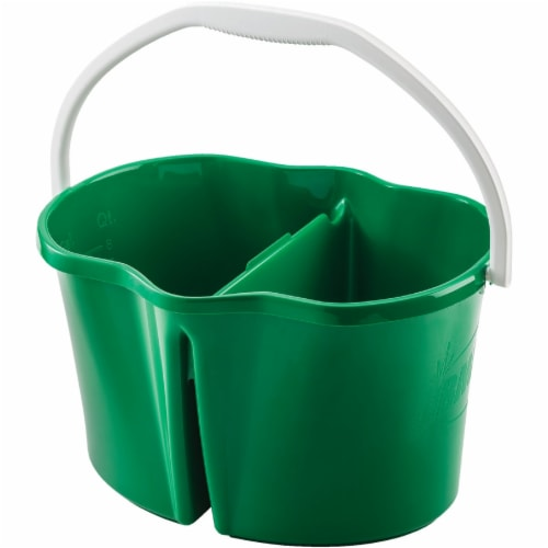 Libman® Clean & Rinse Bucket - Green Perspective: front