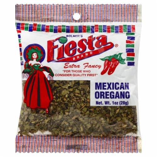 Fiesta Mexican Oregano Perspective: front