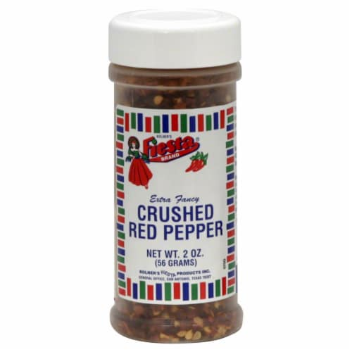 Fiesta Crushed Red Pepper Perspective: front