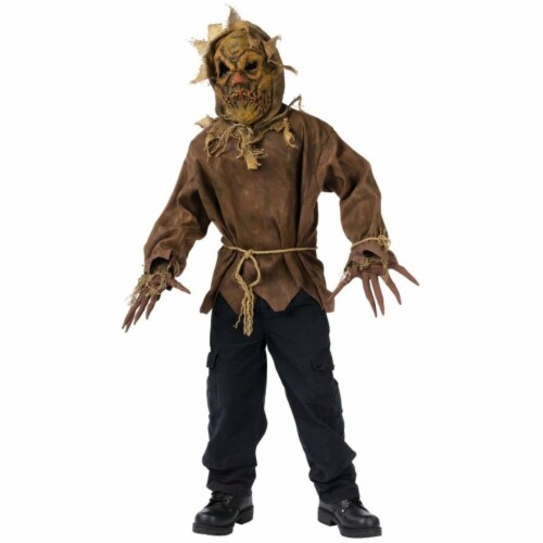 Costumes For All Occasions FW130132LG Scarecrow Child 12-14 Perspective: front