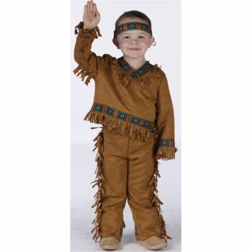 Costumes For All Occasions FW131021TS American Native American Boy Toddler 24-2T Perspective: front