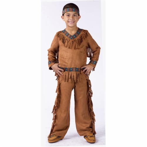 Costumes For All Occasions FW131022LG American Native American Boy Child  Large Perspective: front