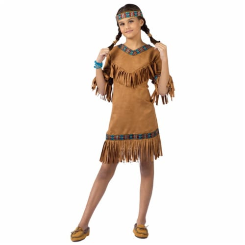 Costumes For All Occasions FW111022SM American Native American Gril Child Small Perspective: front