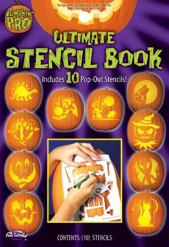 Fun World Pumpkin Pro Ultimate Stencil Book Perspective: front