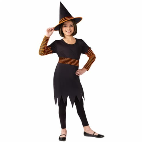 Costumes For All Occasions FW110432SM Witch Pumpkin Patch Child Small Perspective: front