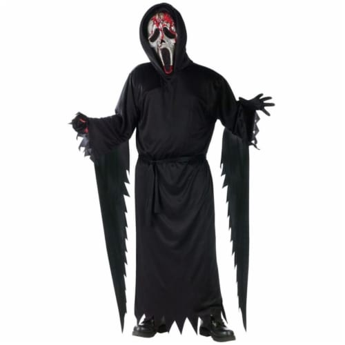 Costumes For All Occasions FW130482MD Zombie Ghost Face Bleeding Child 8-10 Perspective: front