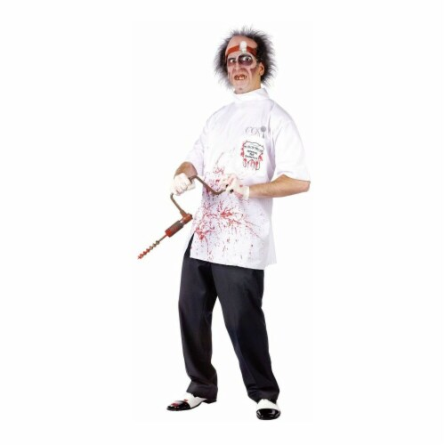 Costumes For All Occasions FW130363 Dr Killer Driller Teen Perspective: front