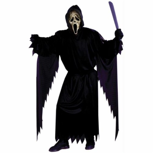 Costumes For All Occasions Zombie Ghost Face Child's Costume - Ages 8-12 Perspective: front