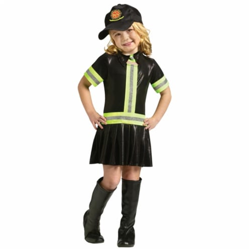Costumes For All Occasions FW110542MD Fire Girl Child 8-10 Perspective: front
