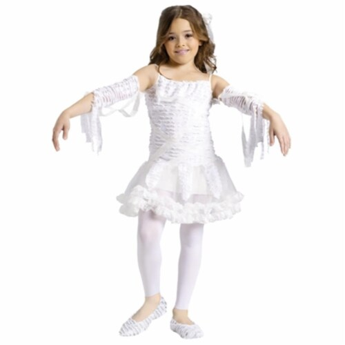 Costumes For All Occasions FW110582SM Tutu Mummy Child 4-6 Perspective: front