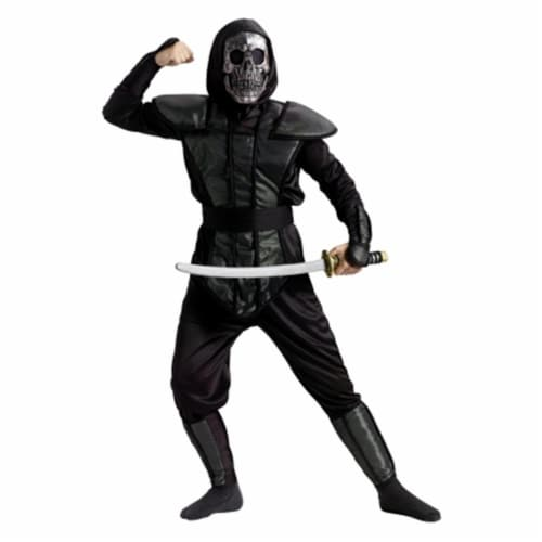 Costumes For All Occasions FW130412SM Large Small Ninja Master Child 4-6 Perspective: front