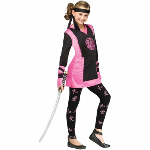Costumes for all Occasions FW118522LG Dragon Ninja Chld Lg 12-14 Perspective: front