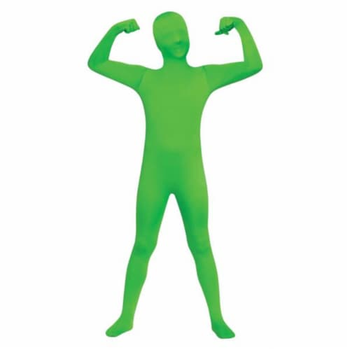 Costumes for all Occasions FW131262GRM Skin Suit Green Chld 8-10 Perspective: front