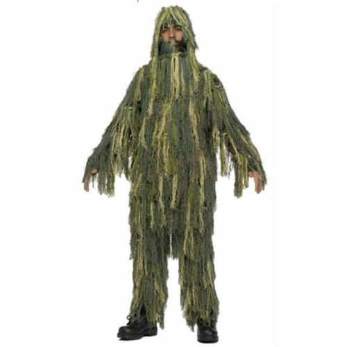 Costumes for all Occasions FW131532MD Ghillie Suit Chld 8-10 Perspective: front