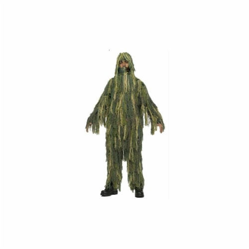 Costumes for all Occasions FW131532LG Ghillie Suit Chld 12-14 Perspective: front