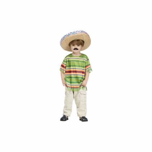 Costumes for all Occasions FW130121SM Little Amigo Chld Cstm 4-6 Perspective: front