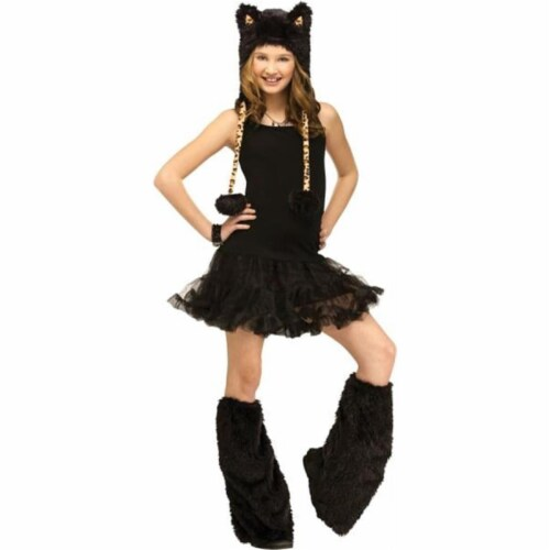 Costumes for all Occasions FW93436L Animal Hoodie Child Leopard Perspective: front