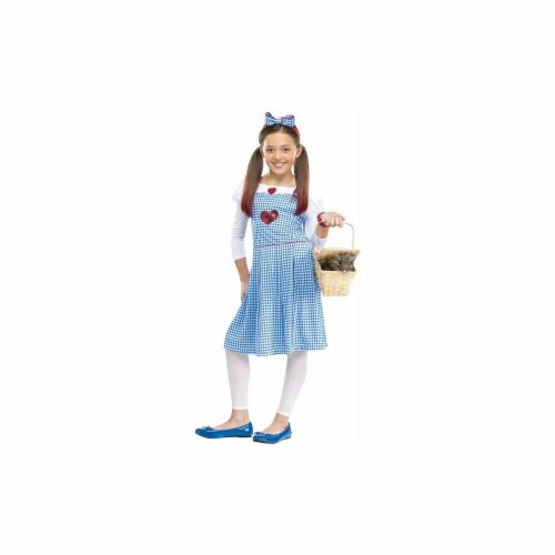 Costumes for all Occasions FW123332SM Dorothy Chld Sm 4-6 Perspective: front
