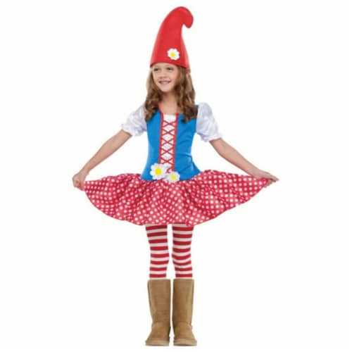 Costumes for all Occasions FW116111TL Gnome Girl Tdlr Lg 3t-4t Perspective: front