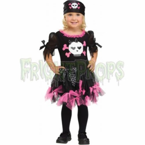 Costumes for all Occasions FW111151TL Sally Skully Tdlr Lg 3t-4t Perspective: front
