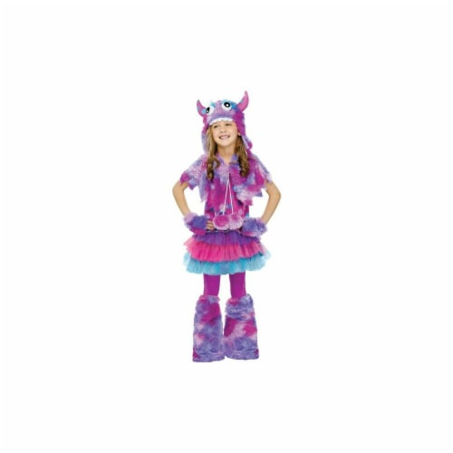Costumes for all Occasions FW123252LG Polka Dot Monster Chld Lg 12-1 Perspective: front
