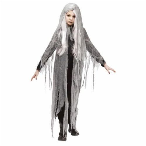 Fun World FW113222SM Zombie Ghost Costume, Small Perspective: front