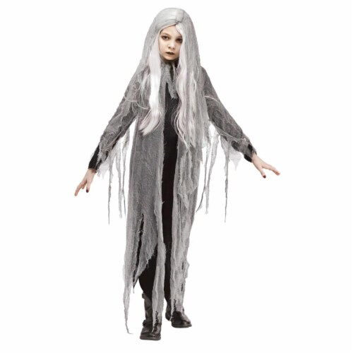 Fun World FW113222LG Zombie Ghost Costume, Large Perspective: front