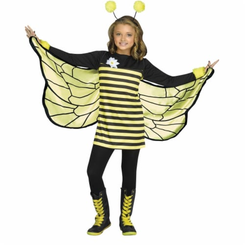 Morris Costumes FW125142XL Child Bee My Honey, Extra Large Perspective: front