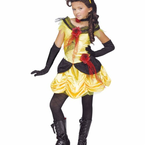 Funworld 270053 Gothic Beauty Child Costume - 8-10 Perspective: front
