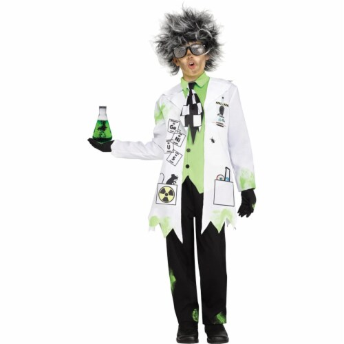 Fun World FW112482SM Childs Mad Scientist Boys Costume - Small Perspective: front
