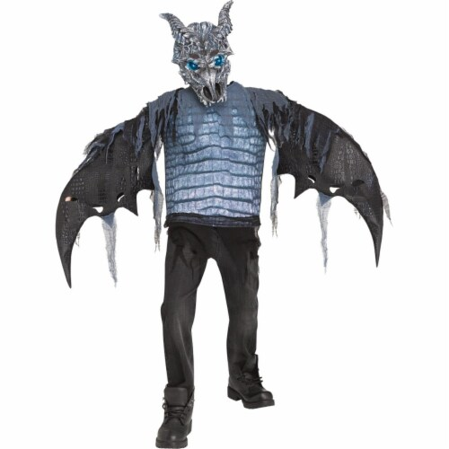 Fun World FW112712MD Childs Ice Dragon Costume - Medium Perspective: front