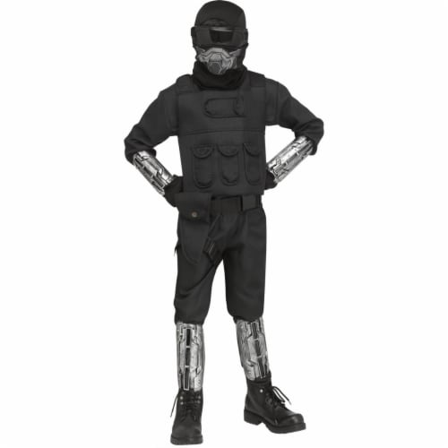 Fun World 403398 Boys Gaming Fighter Costume - Large Perspective: front