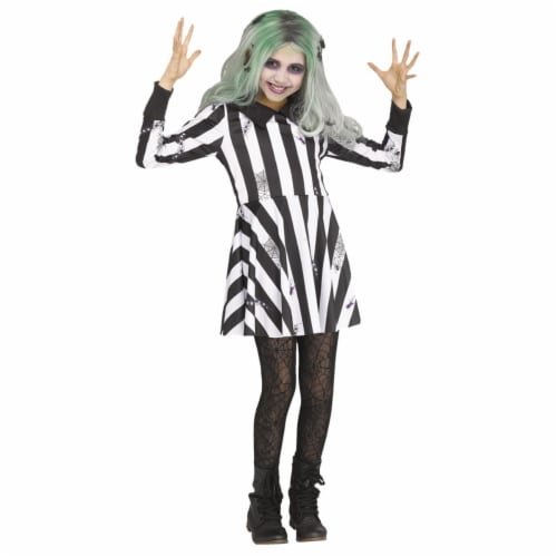 Morris Costumes FW112842LG Ghost Girl Child Costume, Large 12-14 Perspective: front