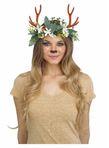 Fun World Woodland Critter Deer Headpiece Perspective: front