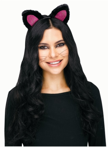 Cat Headband Pink Perspective: front