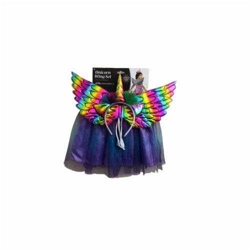 Fun World Unicorn Wing Costume Set Perspective: front