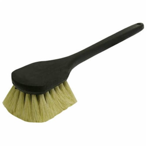 Quickie  Tampico Bristle  4.5 in. W Plastic  Gong Brush - Case Of: 1; Perspective: front