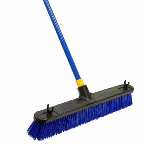 Quickie Broom,24 ,Push 599 Perspective: front