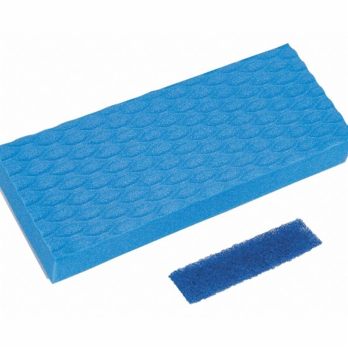 Quickie  3.5 in. W x 9 in. L Dust  Sponge  Mop Refill  1 pk - Case Of: 3; Each Pack Qty: 1; Perspective: front