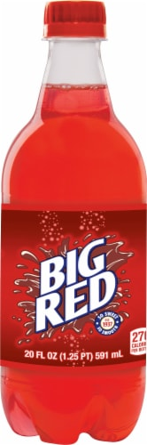 Big Red Soda Perspective: front