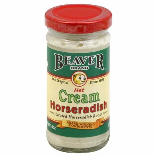 Beaver Cream Style Horseradish Perspective: front