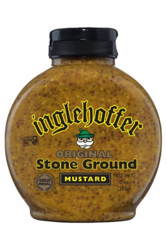Inglehoffer Stone Ground Mustard Perspective: front
