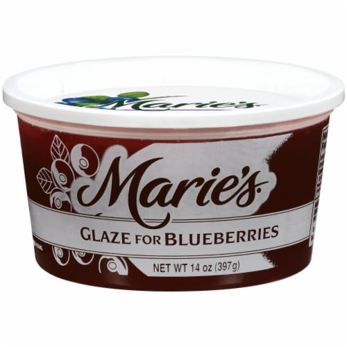 Marie's Glaze for Blueberries Perspective: front