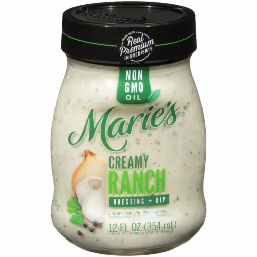 Marie's Creamy Ranch Dressing + Dip Perspective: front