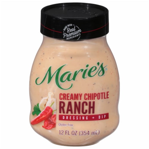 Marie's Creamy Chipotle Ranch Dressing + Dip Perspective: front