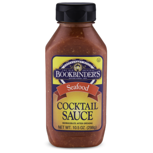 Bookbinder's Seafood Cocktail Sauce Perspective: front